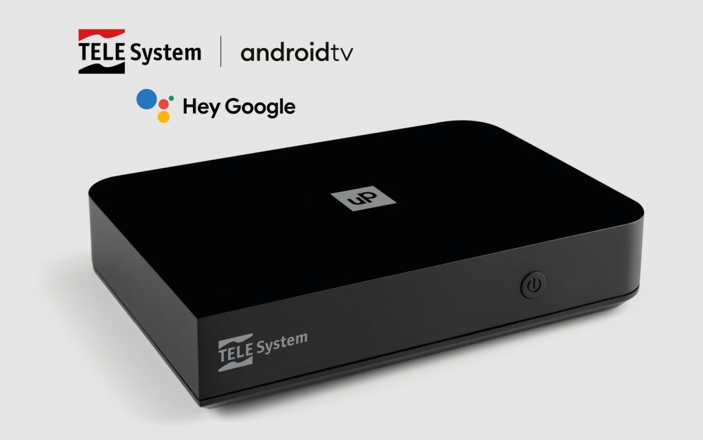 UP T2 4K | Decoder con Android TV ™